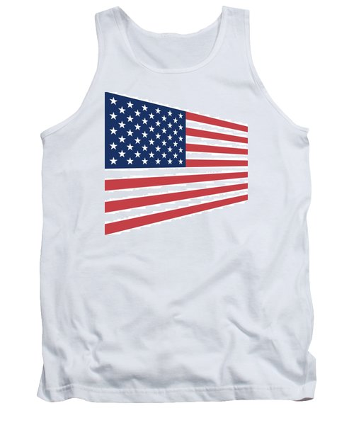 Contemporaryusa Flag Tank Top