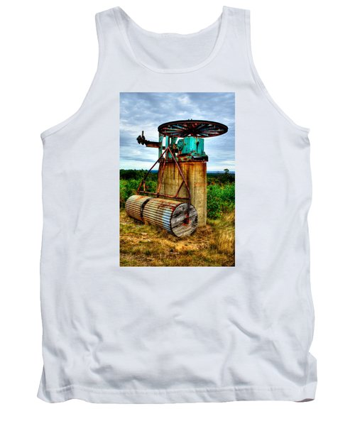 Contraption On Mt Agamenticus Tank Top