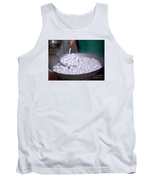 Cooking Chinese Fish Balls Tank Top by Yali Shi