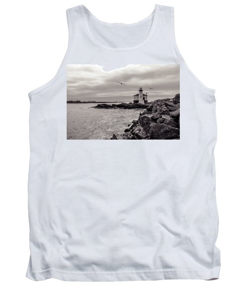 Coquille Lighthouse Oregon  Tank Top