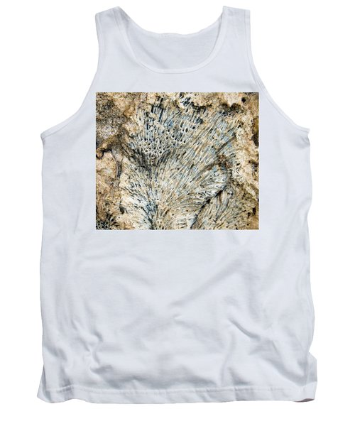 Tank Top featuring the photograph Coral Fossil by Jean Noren