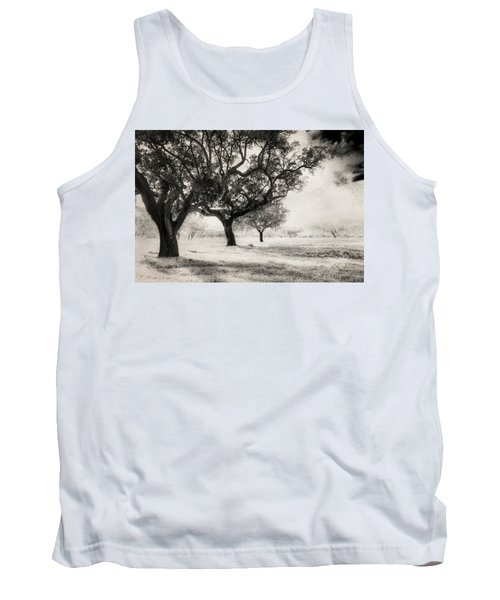 Cork Trees Tank Top by Celso Bressan