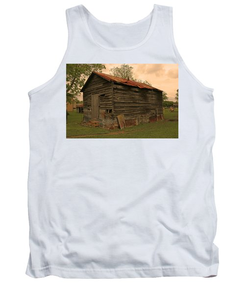 Corn Shed Tank Top by Ronald Olivier
