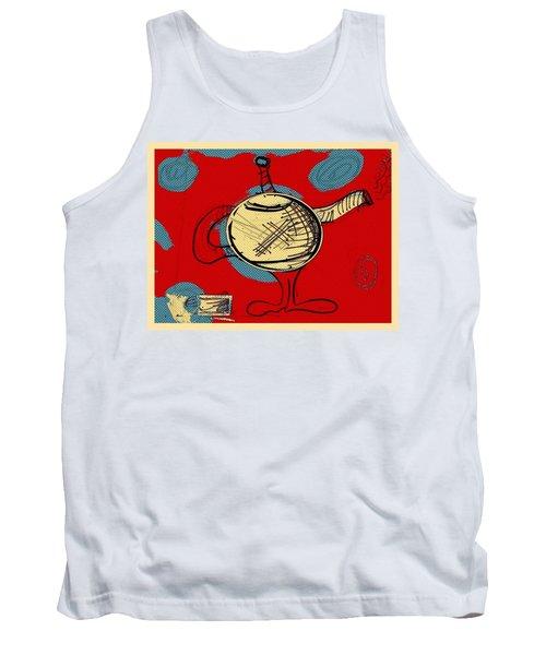 Cosmic Tea Time Tank Top
