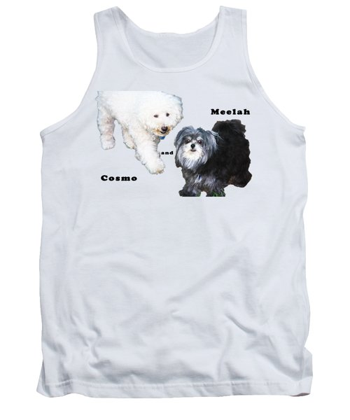 Cosmo And Meelah 2 Tank Top by Terry Wallace