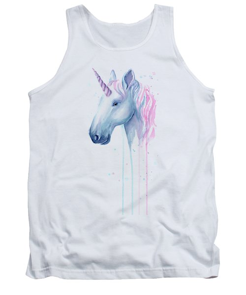 Cotton Candy Unicorn Tank Top