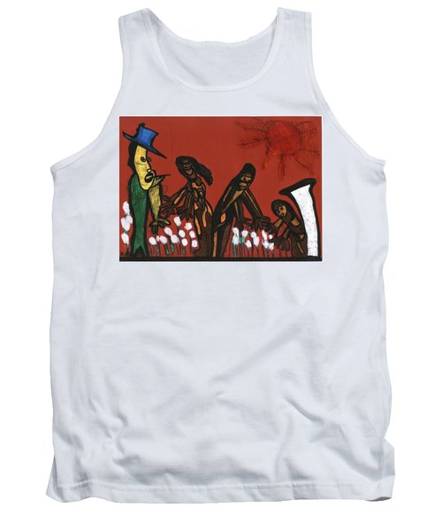 Cotton Pickers Tank Top by Darrell Black