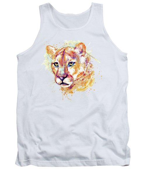 Cougar Head Tank Top