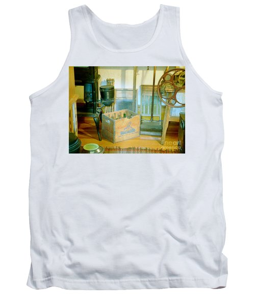 Tank Top featuring the painting Country Kitchen Sunshine II by RC deWinter