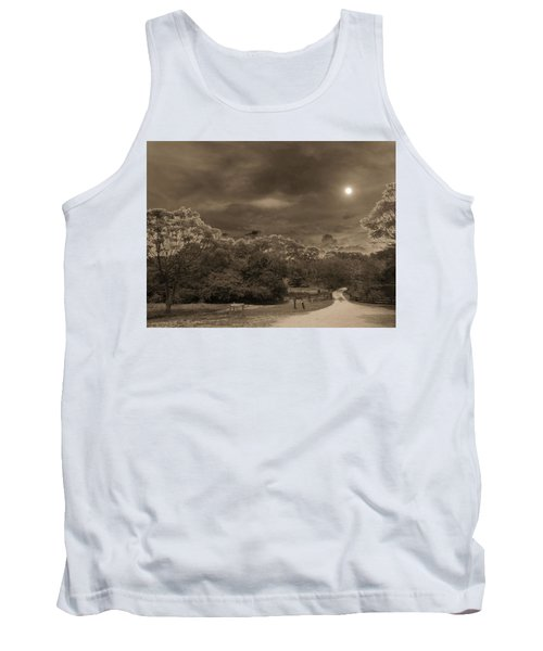 Tank Top featuring the photograph Country Moonlight by Beto Machado