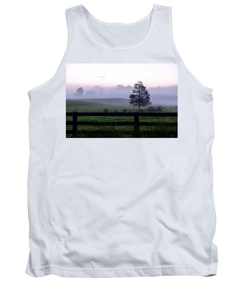 Country Morning Fog Tank Top