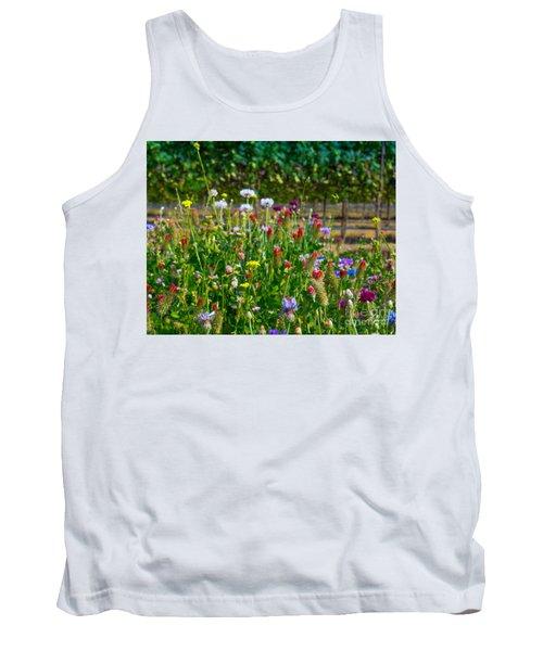 Country Wildflowers II Tank Top