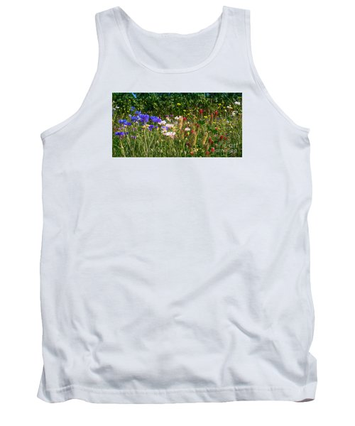 Country Wildflowers Iv Tank Top