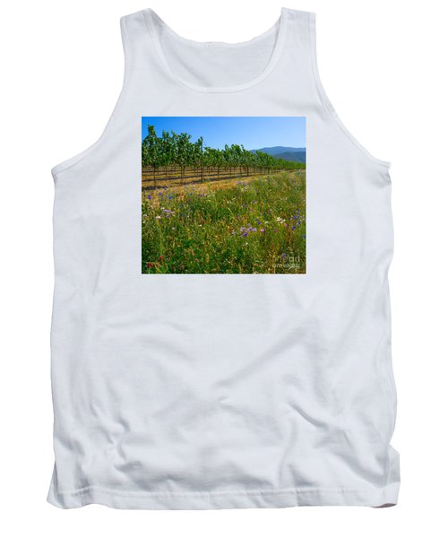 Country Wildflowers V Tank Top