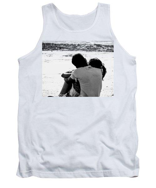 Couple On Beach Tank Top