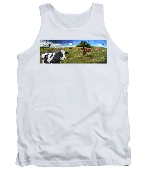 Cows In Field, Ver 3 Tank Top