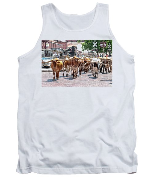 Cowtown Stockyards Tank Top
