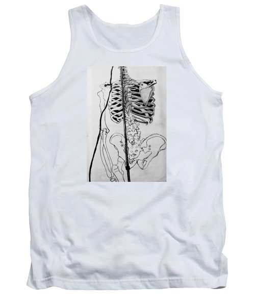 Crackling Bones Tank Top