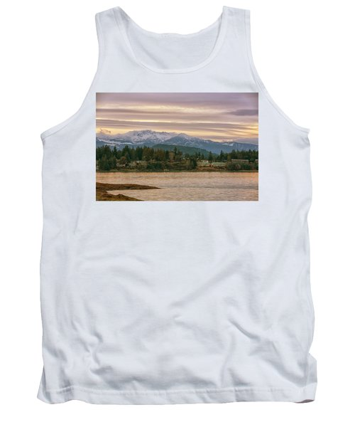 Tank Top featuring the photograph Craig Bay by Randy Hall
