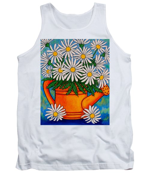 Crazy For Daisies Tank Top