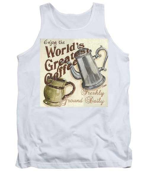 Cream Coffee 1 Tank Top