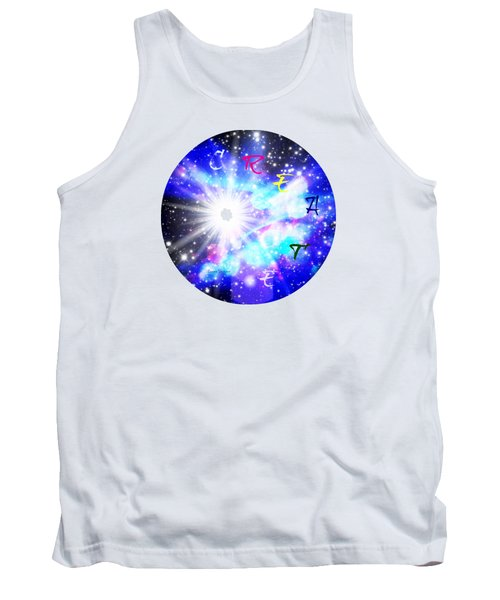 Tank Top featuring the digital art Create by Leanne Seymour