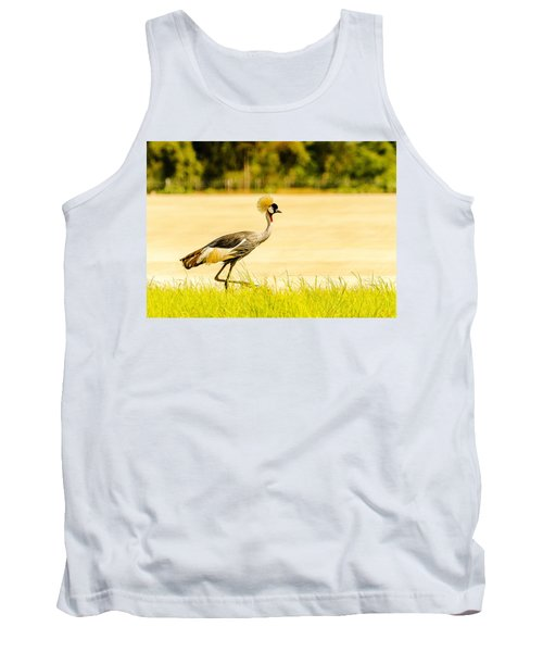 Crested Crane Tank Top