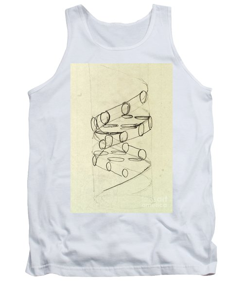 Cricks Original Dna Sketch Tank Top