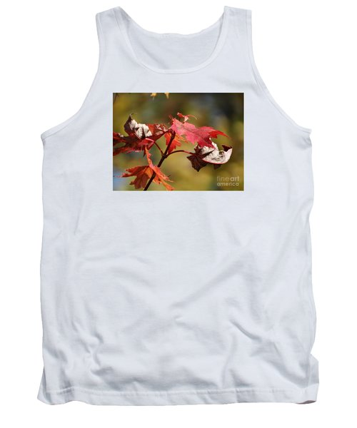 Tank Top featuring the photograph Crimson Fall by J L Zarek