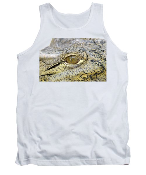 Crocodile Eye Tank Top