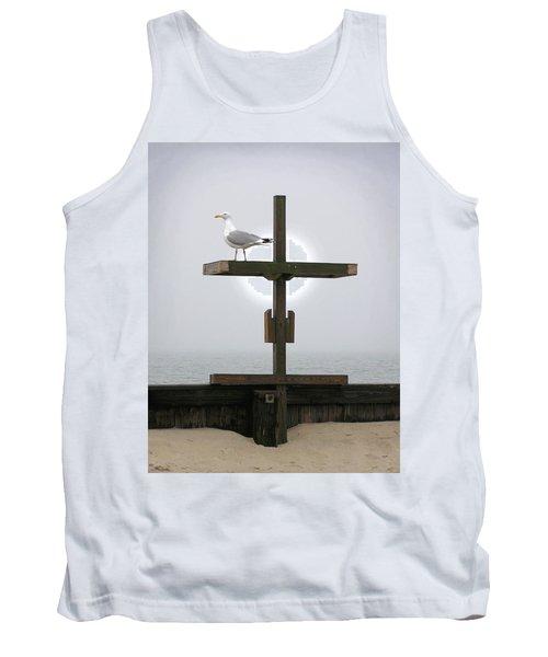 Cross At West Dennis Beach Tank Top