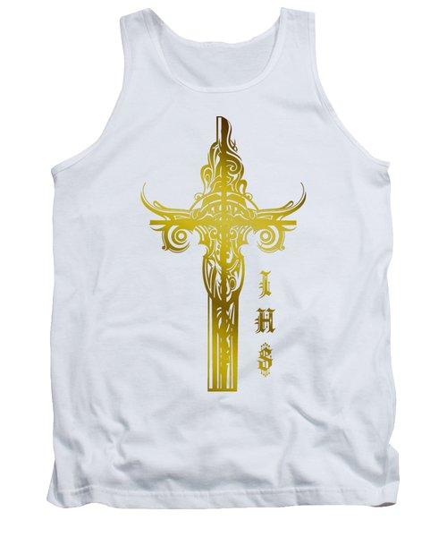 Cross Ihs Gold Tank Top
