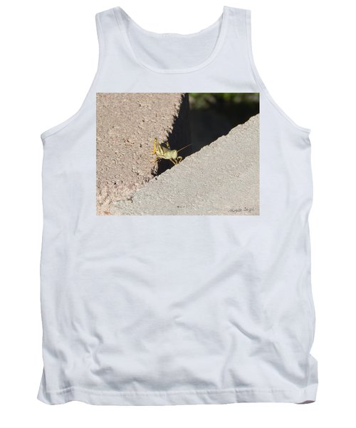 Cross Over Grasshopper Tank Top