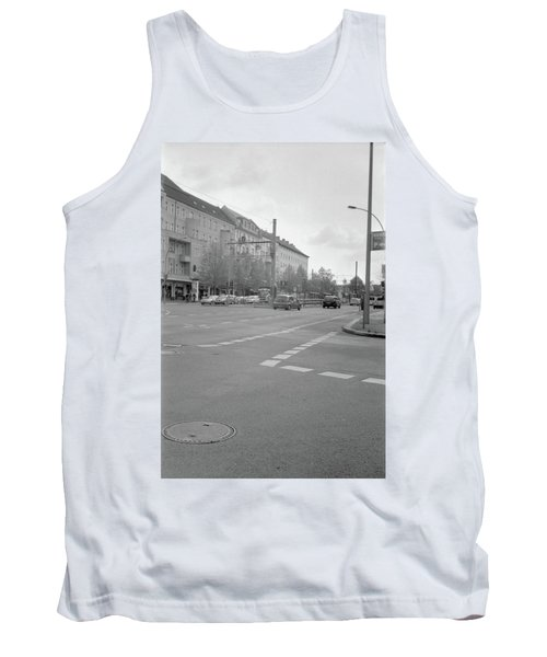 Crossroads In Prenzlauer Berg Tank Top