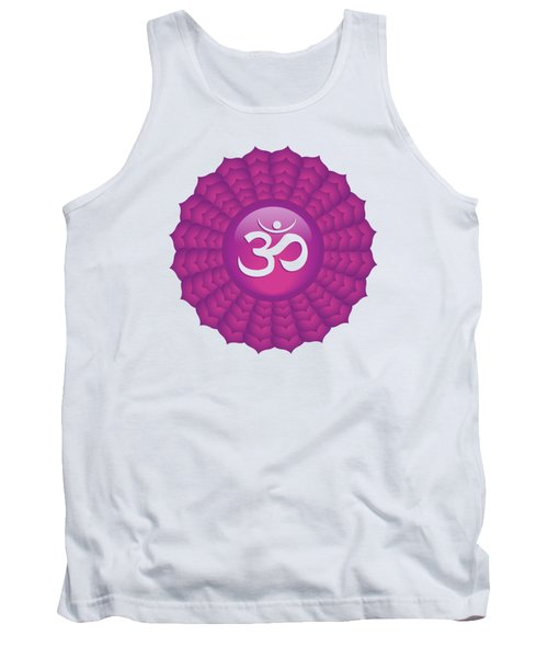 Crown Chakra Tank Top by Serena King