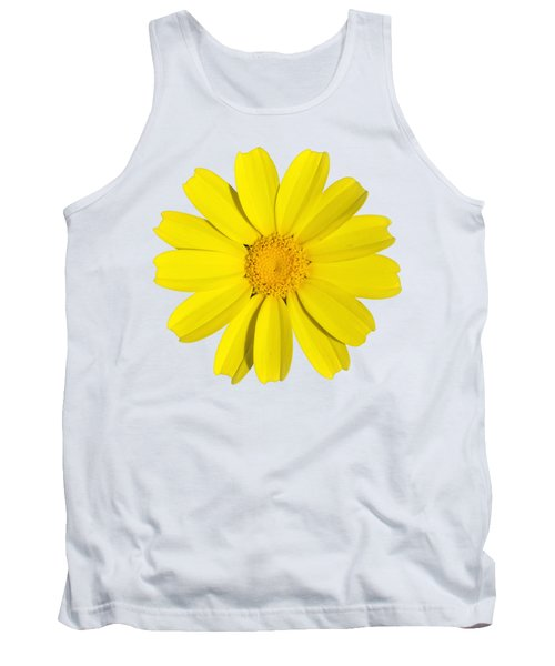 Tank Top featuring the photograph Crown Daisy by George Atsametakis