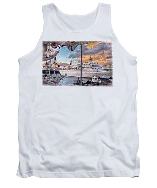 Cruise Port - Light Tank Top