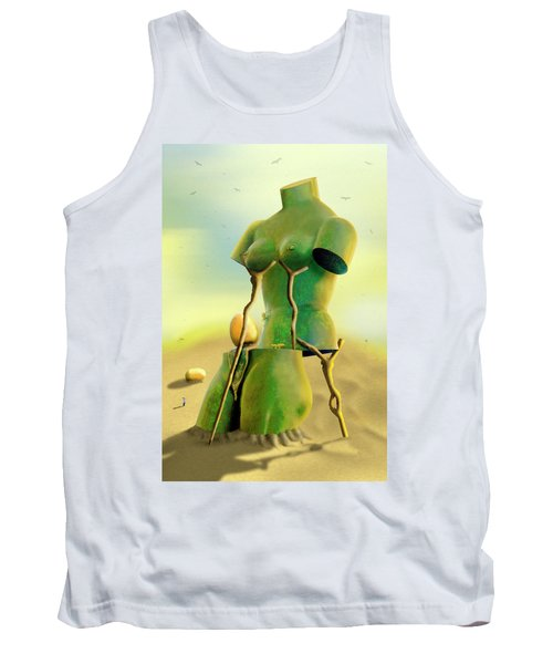Crutches 2 Tank Top