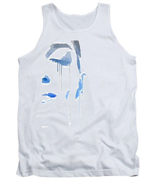 Crying In Pain Tank Top by ISAW Gallery