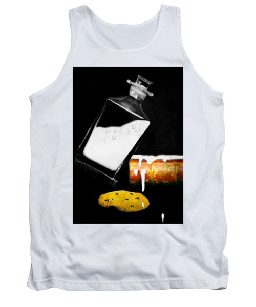 Tank Top featuring the photograph Crying Over Spilled Milk by Diana Angstadt