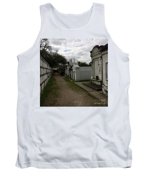 Tank Top featuring the photograph Crypts by Kim Nelson