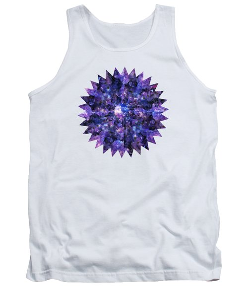 Tank Top featuring the photograph Crystal Magic 1 by Leanne Seymour