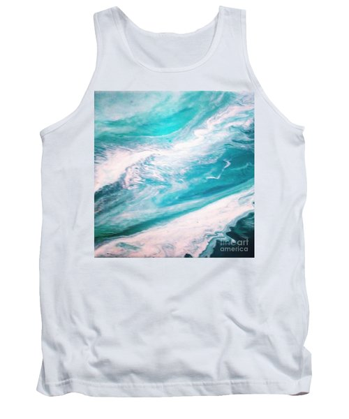 Crystal Wave13 Tank Top