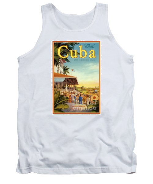 Cuba-come To Havana Tank Top