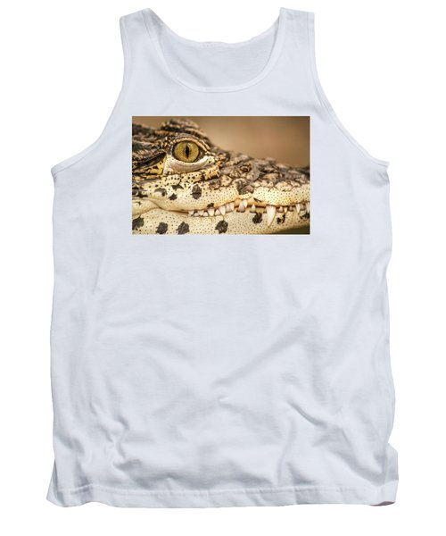 Cuban Croc Smile Tank Top