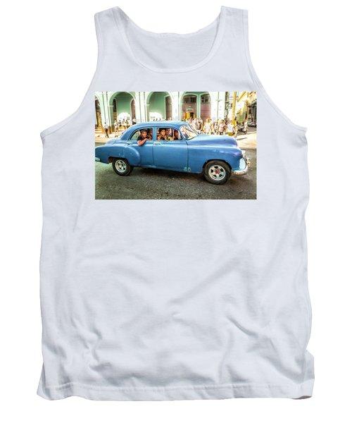 Cuban Taxi Tank Top