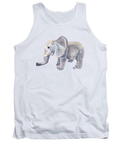 Cuddly Elephant II Tank Top