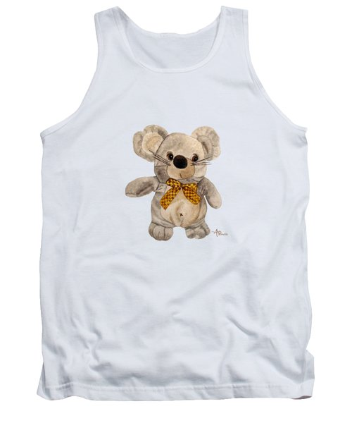 Cuddly Mouse Tank Top by Angeles M Pomata