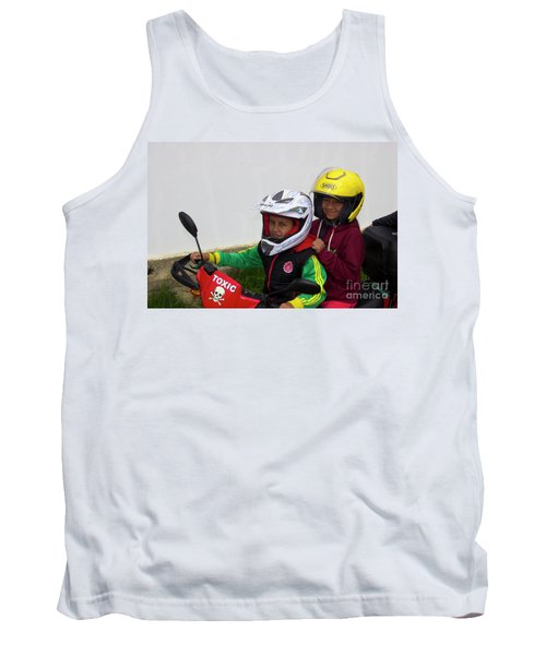 Tank Top featuring the photograph Cuenca Kids 889 by Al Bourassa