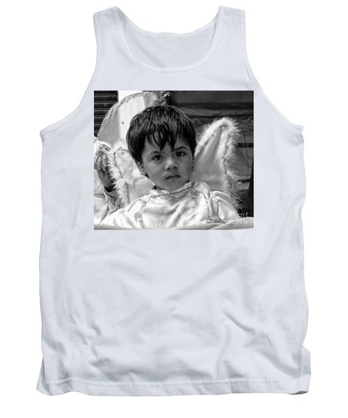 Tank Top featuring the photograph Cuenca Kids 893 by Al Bourassa